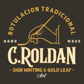 C.Roldán Rotulación Tradicional