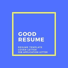 Good Resume