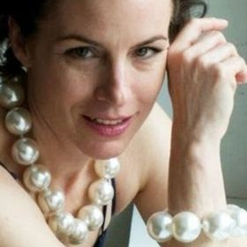 "Nouveau long 130/"" 8-9 mm Noir Naturel cultured pearl necklace"