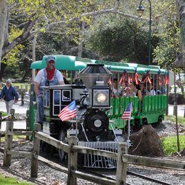 Irvine Park Railroad + Wheel Fun Rentals at Irvine Park Bike and Paddleboat Rentals