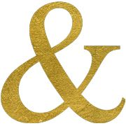 Ampersand social stationery