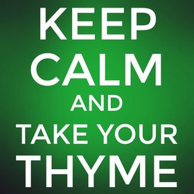 Take your thyme
