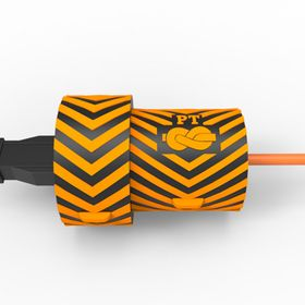Plug-Tie For Electrical Corded Lawn Equipment