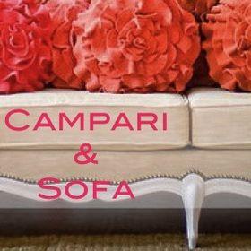 Campari and Sofa