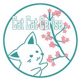 Cat Cat Cerise