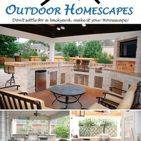 Outdoor Homescapes of Houston's Outdoor Living Designs