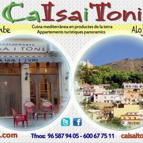 Restaurant i Apartamens Ca Isa i Toni