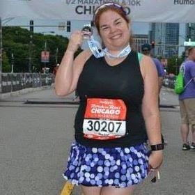 Heather @ Divas Run for Bling