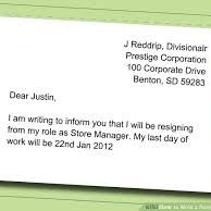 Resignation Letter Resignationl On