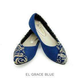 Flatshoes Batik / Tenun