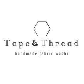 Tape & Thread // handmade fabric washi