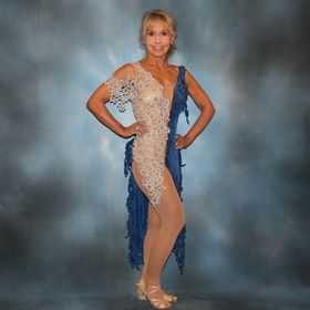 Strictly Come Dancing Dress Dance Latin Party 9-10 Ballroom Princess Costume New