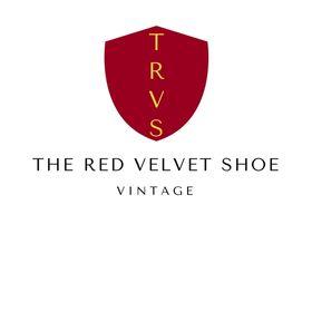 The Red Velvet Shoe Vintage