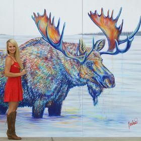 Contemporary Wildlife Art by Teshia