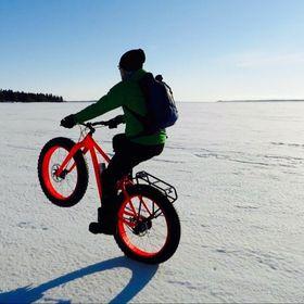 Bike life In Swedish Lapland