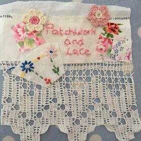 patchwork and lace