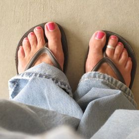 Pink Toes and Power Tools