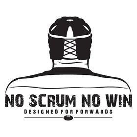 Rugby-No Scrum No Win Apparel