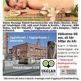 Malmö Harmonicenter Stelas Massage