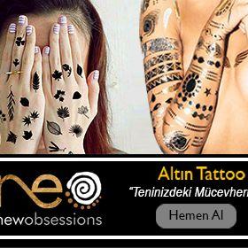 newobsessions Altın Dövme