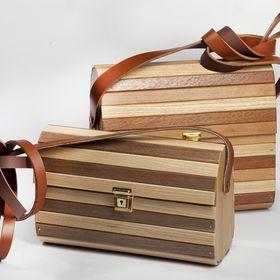 Designer Wooden Bags