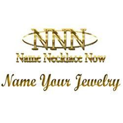 Name Necklace Now - name necklace, monogram necklace, initial necklace, personalized jewelry