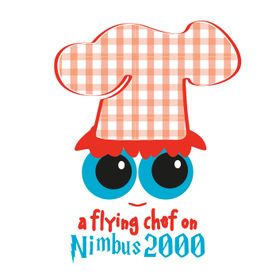 A Flying Chef On Nimbus 2000