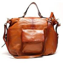 First Layer Cowhide Handbag Crossbody Bag World Garden Leather Vintage Solid Color Chain Small Square Bag