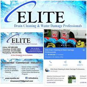 Elite Drain Cleaning &Water Damage Professionals