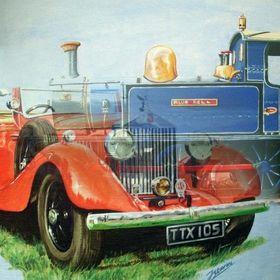 James Stevens Car Portraits, Classic Transport, Railway Art and Botanical Art