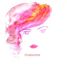 Valourine | Watercolor Art |  Motivational Quotes |