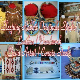 Sleeping Rabbit Originals studio .. Art/ Leather / Beadwork