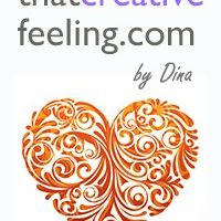 that creative feeling by Dina