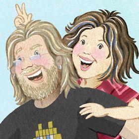 Illustrators Chantelle and Burgen