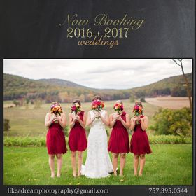 Like A Dream Photography = Wedding Photographer