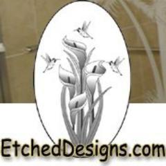 Etched Designs Etched Glass Decals