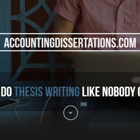 Phd thesis on accounting