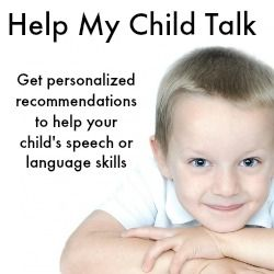 Speech Therapy - Help My Child Talk
