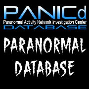 PANICd Paranormal Activity Network Investigation Center Database
