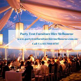 Party Tent Furniture Hire Melbourne