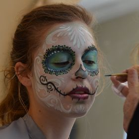 Face Painting Creative Works by Camille