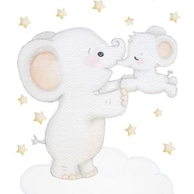 KidsCuteDecorations Nursery wall decals Baby room wall stickers