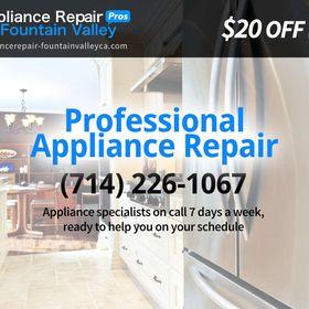 Fountain Valley Appliance Repair Pros