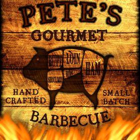 Pete'sGourmetBBQ goodies