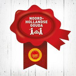 Noord-Hollandse Gouda met het Rode Zegel