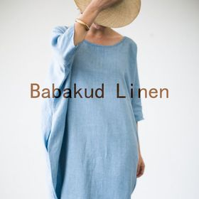 BABAKUD Cotton Linen Loose Outfits | Loose Linen Dresses
