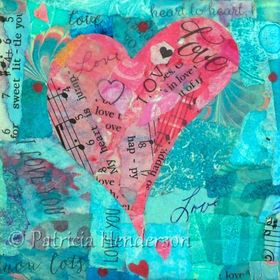 Paper Collage Paintings and other Artsy Stuff by Patricia Henderson