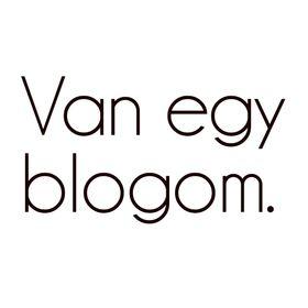 Van Egy Blogom