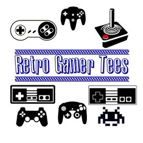 Retro Gamer Tees