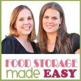 Food Storage Made Easy (Jodi and Julie)